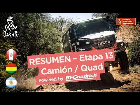 Xxx Mp4 Resumen Camiones Cuadriciclos SxS Etapa 13 San Juan Córdoba Dakar 2018 3gp Sex
