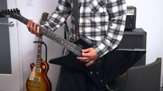 ESP Explorer MetallicA Crunch Sound Through Mesa Boogie MKIIC+