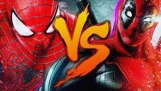 Zuando Youtubers #13- Deadpool VS. Homem-Aranha (Duelo de Titãs)