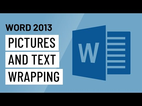 Word 2013 Pictures and Text Wrapping