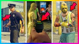 GTA ONLINE - GET RARE SECRET OUTFITS & WEAPONS IN FREEMODE - UNOBTAINABLE GUNS + CLOTHING! (GTA 5)