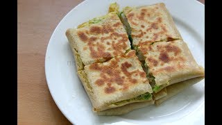 Egg Paratha Recipe - Healthy & Easy