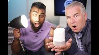 Google Home review - featuring smart light bulbs!