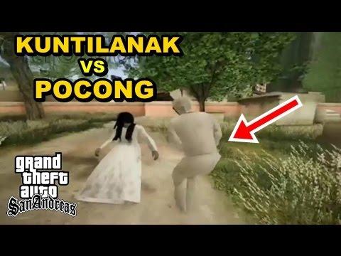 Kuntilanak Vs Pocong GTA Lucu Bikin Ngakak
