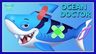 Fun Animal Care - Baby Learn Animal Ocean Doctor Care - Ocean Doctor Kids Games