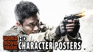 Wolf Warriors Character Posters (2015) - Scott Adkins, Wu Jing Action Movie HD