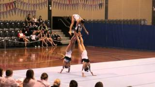 State Championships Acro level 8.. 2015
