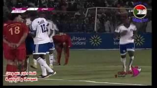 اهداف مباراة الهلال والمريخ اليوم صاروخ شيبولا هدف التعادل للهلال الدوري السوداني الممتاز 2016