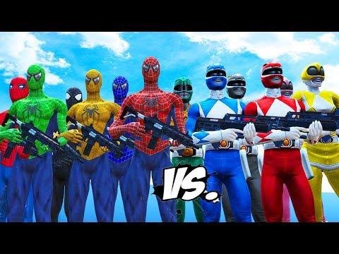 Xxx Mp4 MIGHTY MORPHIN POWER RANGERS VS SPIDER MAN BLUE SPIDERMAN GREEN SPIDERMAN YELLOW SPIDERMAN 3gp Sex