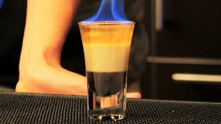 flaming b52 shot with alex wassabi