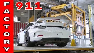 Porsche 911, Turbo, and GT3 Factory Assembly Plant