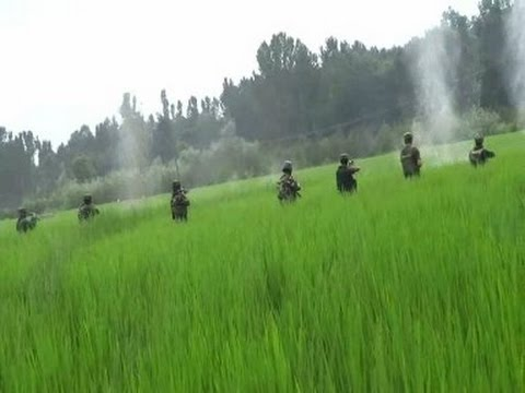 Live Video of Indian Army Operation at Jammu and Kashmir