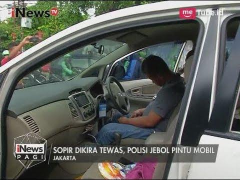 Lucu!! Diduga Supir Tewas, Polisi Jebol Pintu Mobil & Ternyata Hanya Tertidur - iNews Pagi 0905