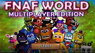 FNaF World Multiplayer - 4 Локация