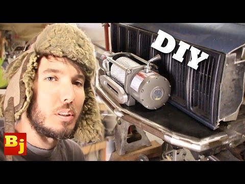 Build Your Own Front Bumper