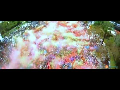 Holi Festival of Colours in Barcelona! 2014