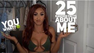 25 RANDOM FACTS ABOUT ME | SAHLT