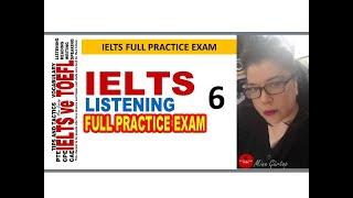 6-IELTS LISTENING FULL PRACTICE EXAM 6 - WITH KEY