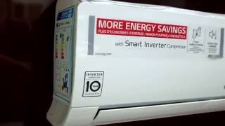New 2016 LG air conditioner P09EN and P12EN Standard Plus Smart Inverter