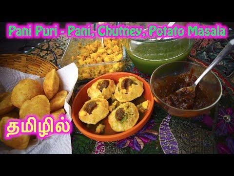 Xxx Mp4 Pani Puri In Tamil Pani Chutney Potato Masala Recipes 3gp Sex