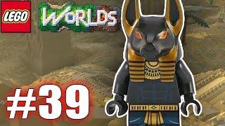 LEGO WORLDS PART 39 - DER ANUBIS WÄCHTER | Let´s Play Lego Worlds Deutsch - EgoWhity