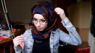 Hijab tutorial l Side twist