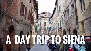 Day Trip to Siena, Italy   Vlog 5