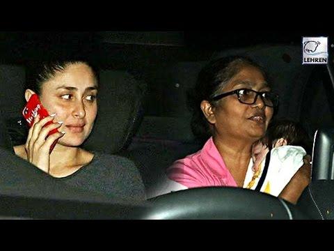Kareena Kapoor's Baby Taimur Ali Khan's First PUBLIC Appearance | LehrenTV