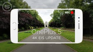 OnePlus 5 4K EIS Video Update Test (vs iPhone 7 Plus & Galaxy S8)