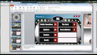 How to make a Powerpoint Family Feud template game tutorial