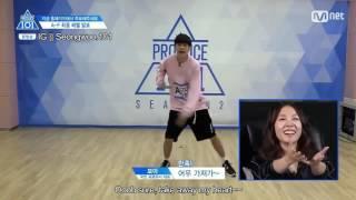 [ENG] Ong Sung Woo | Produce 101 Season 2 | Re-evaluation cut