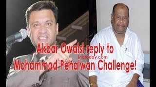 Akbaruddin Owaisi reply to Mohammed Pahelwan Challenge!! | Akbaruddin Owaisi latest Speech Video