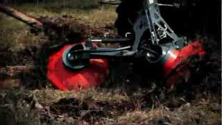 UOT-2000 forest trencher, uotforest.com Disc trencher, Scarifier