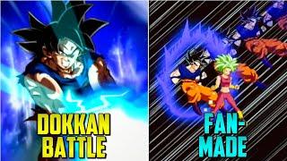 Dokkan Battle VS Fan-Made Super Attacks! (Updated) | Dokkan Battle List