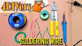 The Beginner's Guide on How to Properly Solder Wire