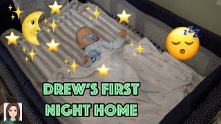 Luvabeau Doll Drew's First Night Home!