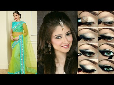 Xxx Mp4 3 Different Party Styles Saree Draping With Party Makeup Hairstyle Step By Step To Do For Yourself 3gp Sex
