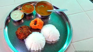 South Indian Breakfast | TIRUPATI MADRAS CAFE | Street Food India