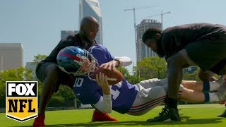 Cooper Manning goes undercover with Mario Addison, James Bradberry | MANNING HOUR | FOX NFL