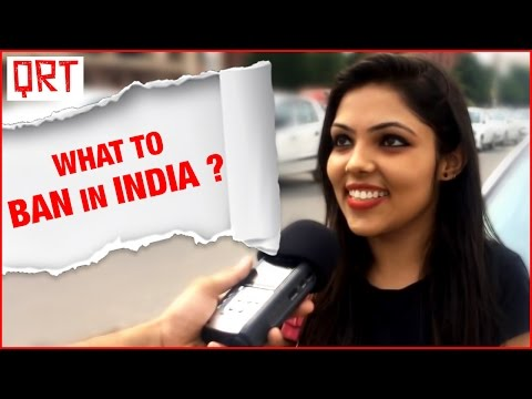 What to Ban in India – Public Reaction | Social Experiment | Porn Ban | Quick Reaction Team