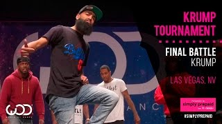 Bad Newz vs Pun | Krump Battle Finals | World of Dance Las Vegas 2015 | #WODVEGAS15