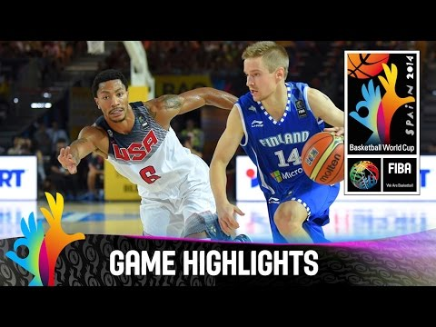watch USA v Finland - Game Highlights - Group C - 2014 FIBA Basketball World Cup