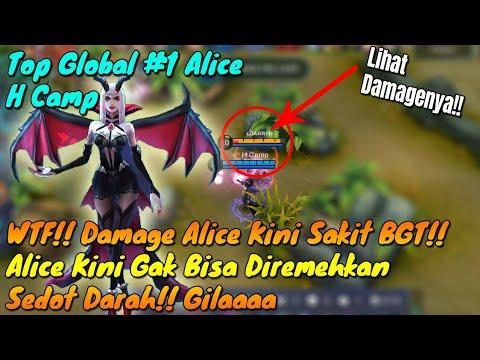 Xxx Mp4 WTF Alice Menggila Damagenya Kini Jadi Hero Yg Ditakuti By Top Global 1 Alice Mobile Legends 3gp Sex