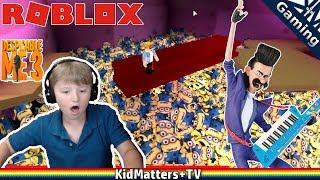 Escape the Minions!! Roblox | Despicable Me 3 movie | obby. Disco, 80's, OH MY! [KM+Gaming S01E43]