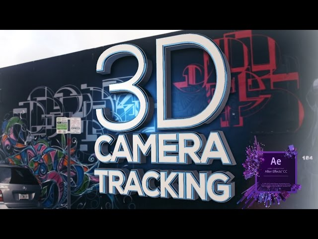 3D CAMERA TRACKER - After Effects Tutorial (Easy)