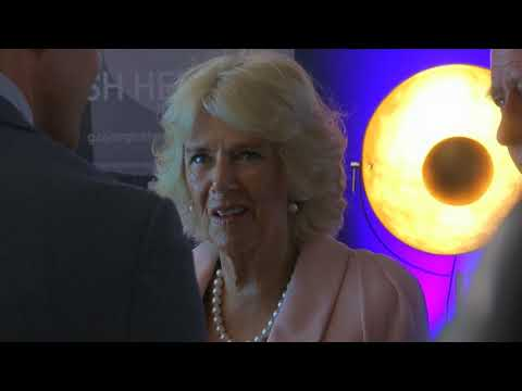 Prince Charles and Camilla meet YouTubers in London - 5 News