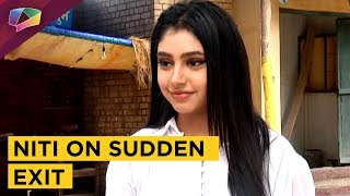 Niti Taylor Talks About Sudden Exit From Ghulaam | Life Ok