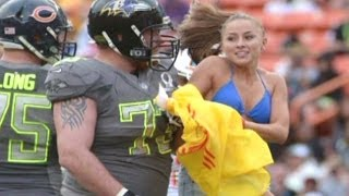 Heartfelt Pro Bowl stunt impresses players