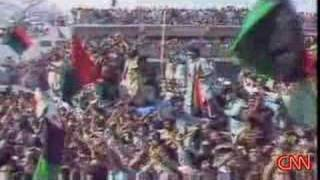 Benazir Bhutto murder at a political rally
