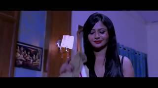 New Hindi short Film Sexy babe bra show   bed scene